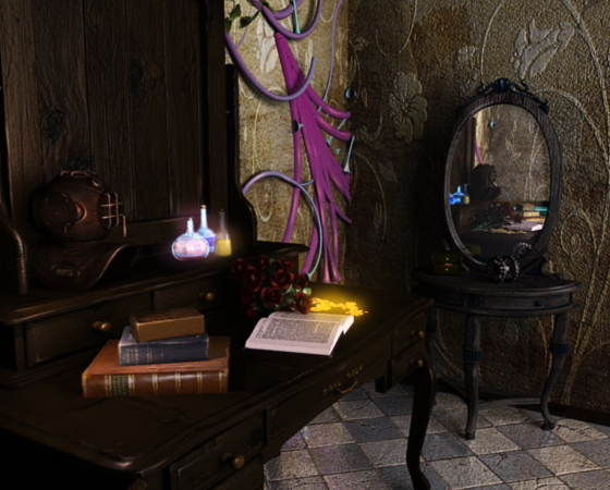 Steampunk room – concepts